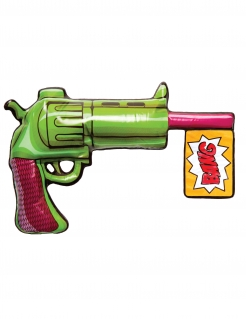 Joker™-Pistole aufblasbar Accessoire grün