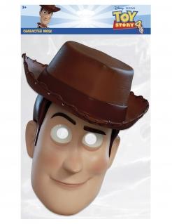 Woody-Maske für Kinder Toy Story™ Faschingsmaske beige-braun