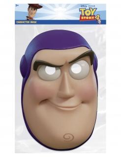 Buzz Lightyear™ Pappmaske für Kinder Toy Story™ bunt