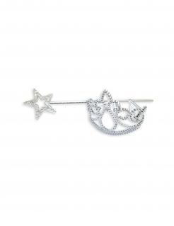 Prinzessin-Accessoire-Set Faschingszubehör silber