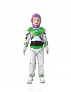 Buzz Lightyear™-Kostüm für Jungen Faschingskostüm weiss-grün-violett