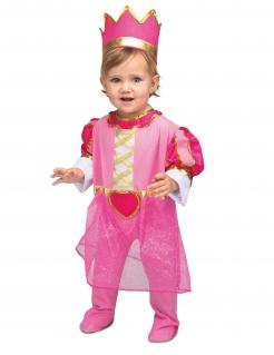 Prinzessinnen-Kostüm für Mädchen Kleinkinder Faschingskostüm pink-gold
