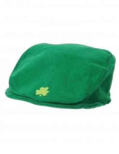 Kleeblatt-Flatcap irische Mütze St. Patrick