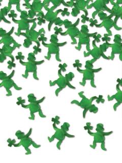 Leprechaun-Konfetti Tischkonfetti Partydeko grün 42 g