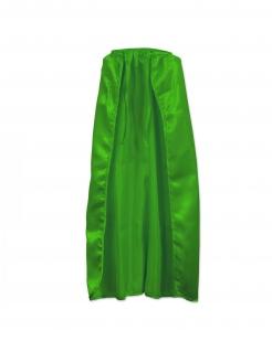 Langes Cape für Erwachsene Umhang grün
