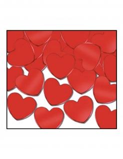 Herz-Konfetti Valentinstag-Deko rot 28 g