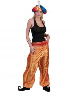 Orientalische Hose für Damen Tänzerin-Hose gold