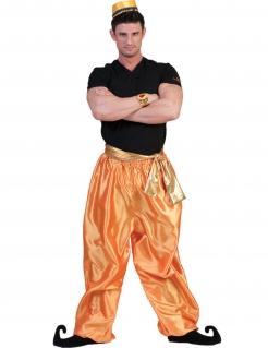 Orientalische Hose für Herren Tänzer-Hose gold