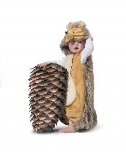 Igel-Kostüm für Babys braun