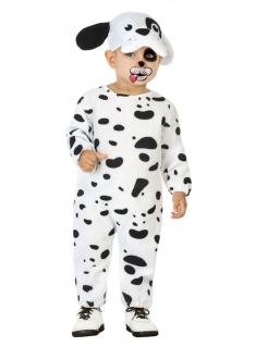 Dalmatiner-Kostüm für Babys Faschingskostüm schwarz-weiss