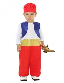 Orientalisches Kostüm für Kleinkinder Faschingskostüm rot-blau-weiss