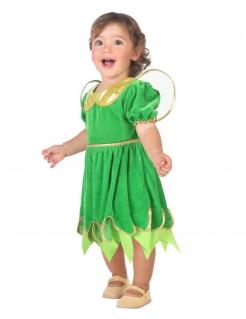 Feen-Kostüm für Kleinkinder Elfe-Faschingskostüm grün