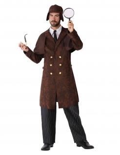 Meisterdetektiv-Kostüm für Herren braun
