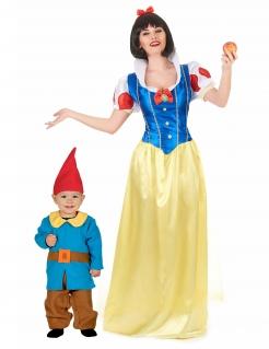 Märchen-Paarkostüm für Mutter und Kind Faschingskostüm bunt