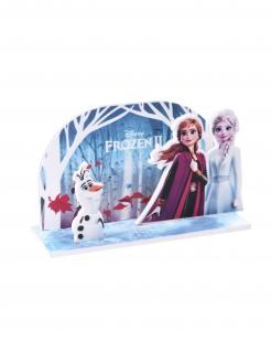 Frozen 2™-Kuchendeko mit 3D-Effekt Partydeko bunt 15x8,5 cm