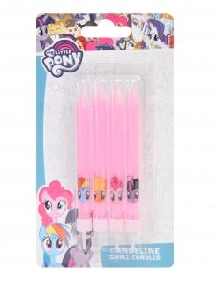 My-Little-Pony-Kerzen 4 Stück rosa 9 cm