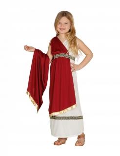 Römerin-Kostüm für Mädchen Faschingskostüm weiss-rot