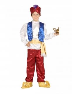 Wüstenprinz-Kostüm für Jungen Faschingskostüm rot-weiss-blau