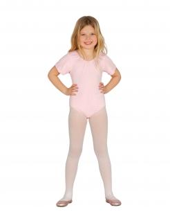 Body für Kinder mit kurzen Ärmeln Accessoire rosa