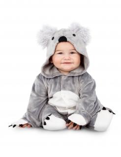 Niedliches Koala-Babykostüm grau