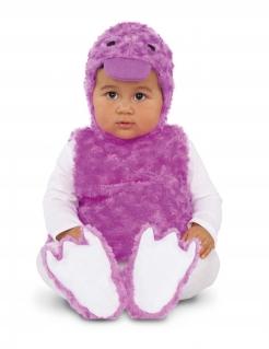 Enten-Babykostüm für Kinder Tierkostüm Fasching lila