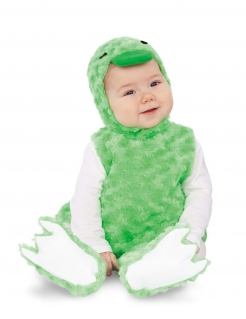 Entenkostüm für Babys Faschingskostüm grün