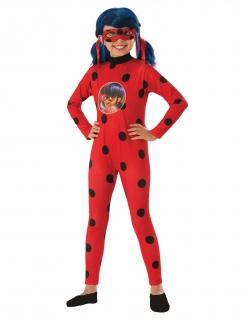 Ladybug™-Kostüm für Mädchen im Geschenkkoffer Faschingskostüm rot-schwarz