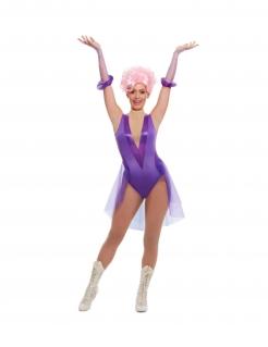 Trapezkünstlerin-Kostüm für Damen Faschingskostüm violett