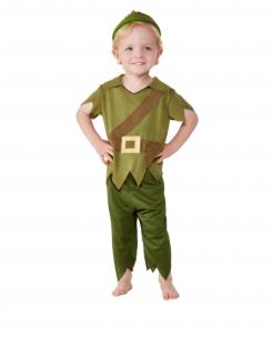 Film-Kostüm für Kleinkinder Verlorener Junge grün