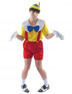 Marionette-Kostüm für Herren Faschingskostüm bunt