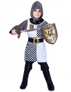 Ritter-Kostüm für Jungen Faschingskostüm weiss-grau