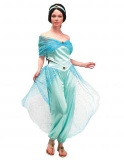 Orientalisches Prinzessin-Kostüm für Damen Faschingskostüm türkis