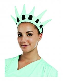 Krone der Freiheitsstatue für Erwachsene blau