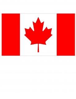 Kanadische Nationalflagge rot-weiss 150 x 90 cm