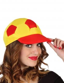 Spanien-Basecap Accessoire Spanien-Fanartikel rot-gelb