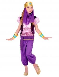 Orient-Mädchenkostüm Prinzessin aus 1001 Nacht Faschingskostüm violett