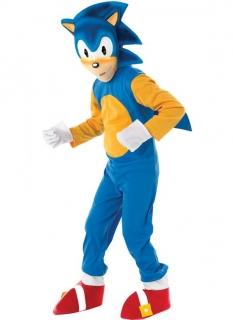 Offizielles Sonic™-Kostüm für Kinder bunt
