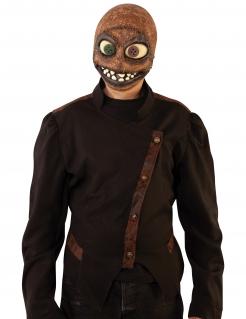Grusel-Maske im Jutesack-Look Halloween-Maske braun