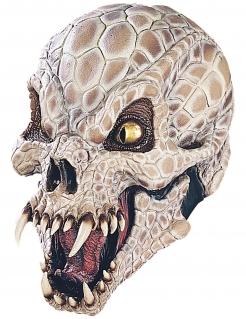Klapperschlange-Maske Halloweenmaske beige