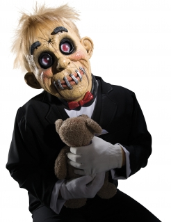 Grausige Puppen-Maske Halloween-Maske bunt