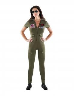 Offizielles Top Gun™ Erwachsenenkostüm grün