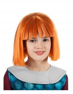 Offizielle Wickie-Perücke Wickie und die starken Männer™ orangefarben Kostümzubehör