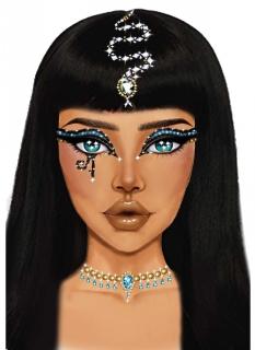 Kleopatra Schmucksteine selbstklebend bunt