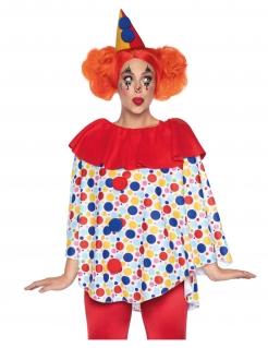 Hübsches Clown-Top mit Hut für Damen bunt