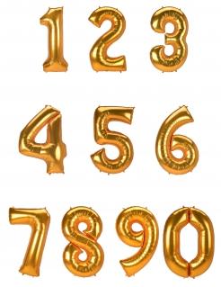 Große Zahlen-Ballons verschiedene Ziffern wählbar 134 cm