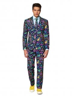Mr. Vegas-Kostüm für Herren Faschingskostüm bunt