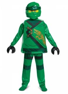 Lloyd-Kostüm für Kinder Lego Ninjago™ 5-teilig gün-schwarz-gold