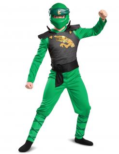 Lloyd-Kostüm für Kinder Lego Ninjago™ Legacy grün