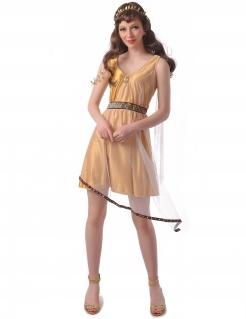 Römisches Damenkostüm Antike-Kostüm gold