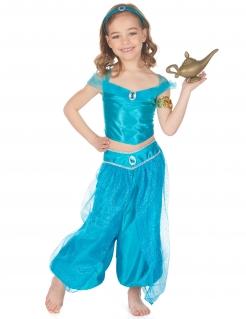 Orientalische Prinzessin Mädchenkostüm Faschingskostüm blau